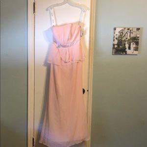 David's Bridal Bridesmaid Dress, size 8